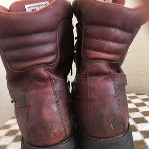 Chippewa Shoes - chippewa oxblood lace up hunting boots 10.5 w